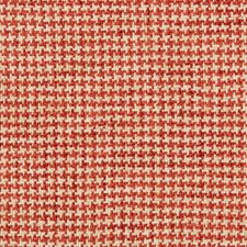 Red/White Check Decorator Fabric by Kravet