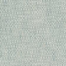 Light Blue/Spa/Blue Herringbone Decorator Fabric by Kravet