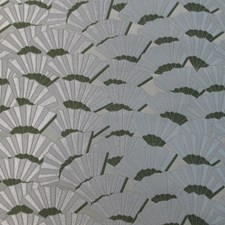 Verde Jacquard Lampass Decorator Fabric by Scalamandre