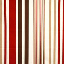 Ruby Print Pattern Decorator Fabric by Fabricut