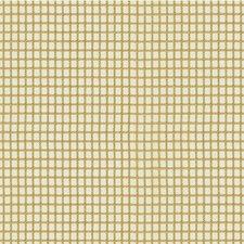 White/Yellow Check Decorator Fabric by Kravet