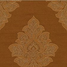 Copper Damask Decorator Fabric by Kravet
