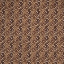 Plum Gold Geometric Decorator Fabric by Fabricut