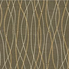 Grey/Light Grey/Gold Modern Decorator Fabric by Kravet