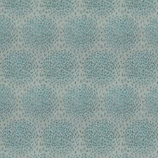 Teal Animal Decorator Fabric by Stroheim
