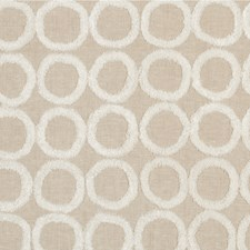 Flax Geometric Decorator Fabric by Kravet