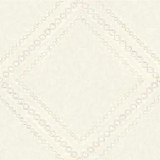 Cream Dots Decorator Fabric by Kravet