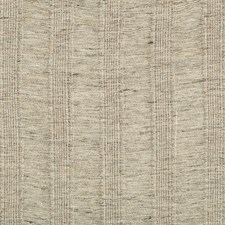 Grey/Beige/Neutral Stripes Decorator Fabric by Kravet