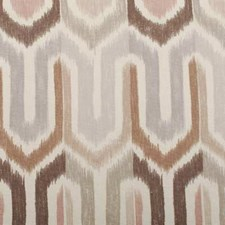 Pink/brown Decorator Fabric by Duralee