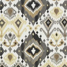 Black/Camel Diamond Decorator Fabric by Duralee