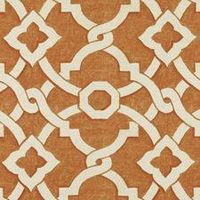 Pumpkin Diamond Decorator Fabric by Duralee