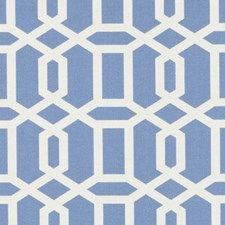 Baby Blue Diamond Decorator Fabric by Duralee