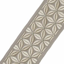 Embroidery Pewter Trim by Stroheim