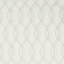 Ivory/Beige Modern Decorator Fabric by Kravet