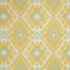 Lemon Zest Flamestitch Decorator Fabric by Trend