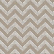 Silver Metallic Flamestitch Decorator Fabric by Trend