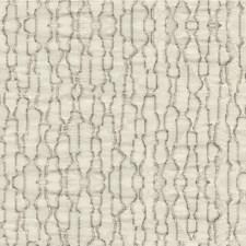 White/Beige Modern Decorator Fabric by Kravet