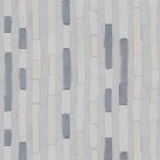 White/Light Grey/Grey Modern Decorator Fabric by Kravet