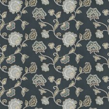 Primrose Embroidery Decorator Fabric by Stroheim
