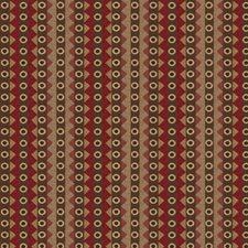 Beet Stripes Decorator Fabric by S. Harris