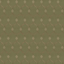 Moss Diamond Decorator Fabric by Trend