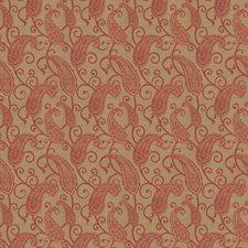 Raspberry Jacquard Pattern Decorator Fabric by Trend