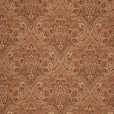 Pumpkin Damask Decorator Fabric by Fabricut