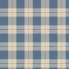 Cornflower Check Decorator Fabric by Fabricut