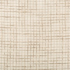 Taupe/White Plaid Decorator Fabric by Kravet