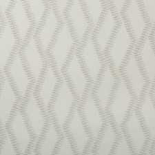 White/Taupe Geometric Decorator Fabric by Kravet