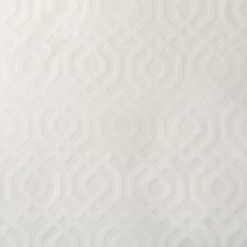 White Geometric Decorator Fabric by Kravet