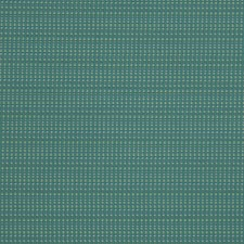 Teal Small Scale Woven Decorator Fabric by Stroheim
