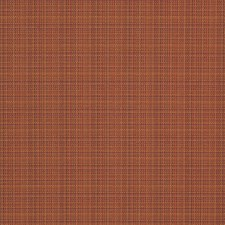 Paprika Small Scale Woven Decorator Fabric by Stroheim