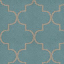Azure Lattice Decorator Fabric by S. Harris