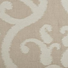 Bone Embroidery Decorator Fabric by Highland Court