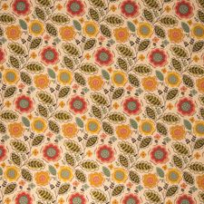 Autumn Floral Decorator Fabric by Vervain