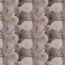 Grape Embroidery Decorator Fabric by S. Harris