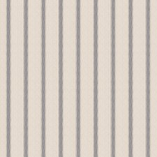 Blue Stripes Decorator Fabric by Trend