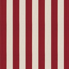 Persian Red Stripes Decorator Fabric by Fabricut