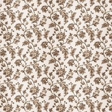 Latte Floral Decorator Fabric by Fabricut