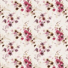 Berry Floral Decorator Fabric by Vervain