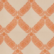 Orange Blossom Jacquard Pattern Decorator Fabric by Fabricut