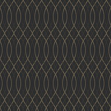 Onyx Lattice Decorator Fabric by Fabricut