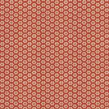 Berry Geometric Decorator Fabric by Stroheim