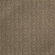 Walnut Shell Herringbone Decorator Fabric by Vervain