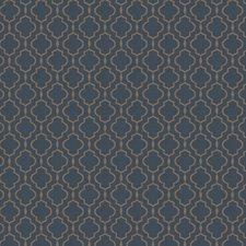 Marine Jacquard Pattern Decorator Fabric by Trend