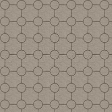 Taupe Embroidery Decorator Fabric by Trend