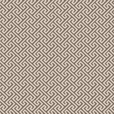 Pewter Geometric Decorator Fabric by Trend