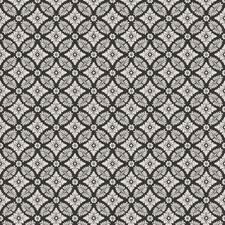 Black Medallion Decorator Fabric by Fabricut