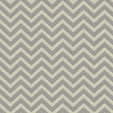 Silver Chevron Decorator Fabric by Fabricut